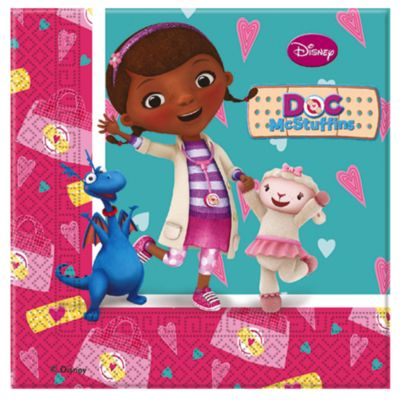 Doc McStuffins Party Napkins, Pack of 20