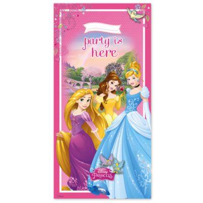 Cartel puerta de princesa Disney