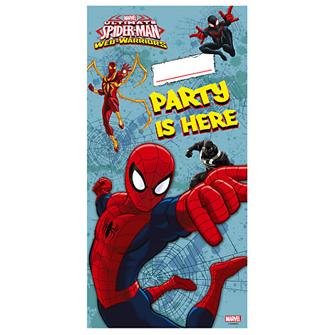 Spider-Man Door Banner