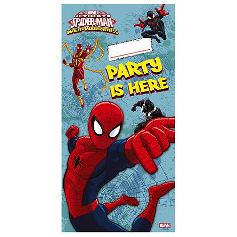Cartel puerta de Spider-Man