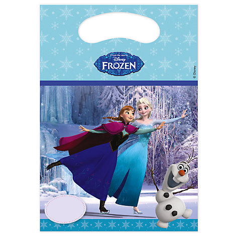 Frozen Party Bags, Pack of 6