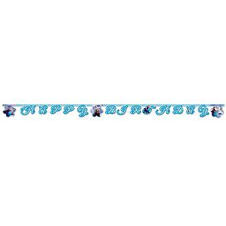 Cartel feliz cumpleaños de Frozen