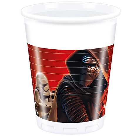 Star Wars: The Force Awakens festkrus, pakke med 8 stk.