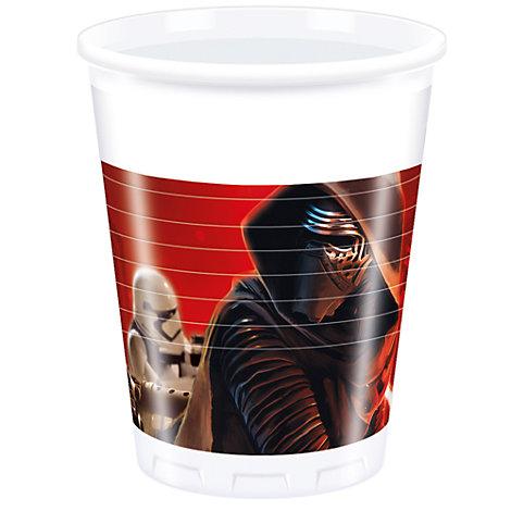 Bicchieri di plastica Star Wars: Il Risveglio della Forza, confezione da 8