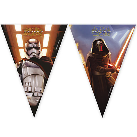 Striscione con bandierine Star Wars: Il Risveglio della Forza