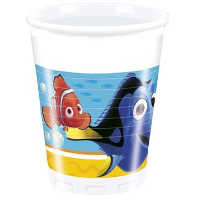 Bicchieri di carta Alla ricerca di Dory, confezione da 8