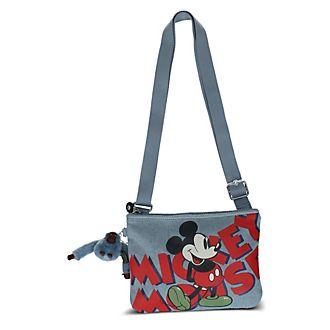Kipling Sac à bandoulière May Mickey en jean