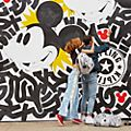 Kipling Mickey Mouse Bright Backpack