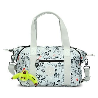 Minibolso gris Art Mickey Mouse, Kipling