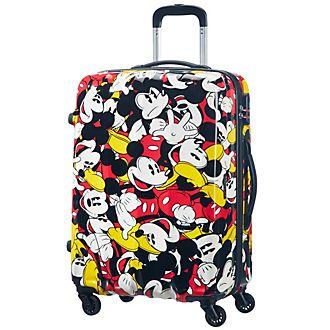 American Tourister maleta con ruedas mediana, Mickey Mouse Comics