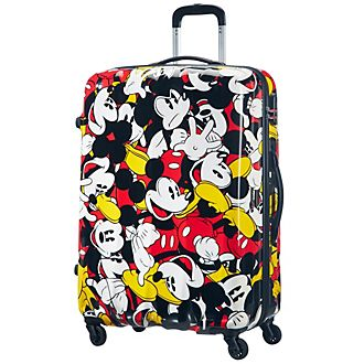 American Tourister Mickey Mouse Comics Large Rolling Luggage