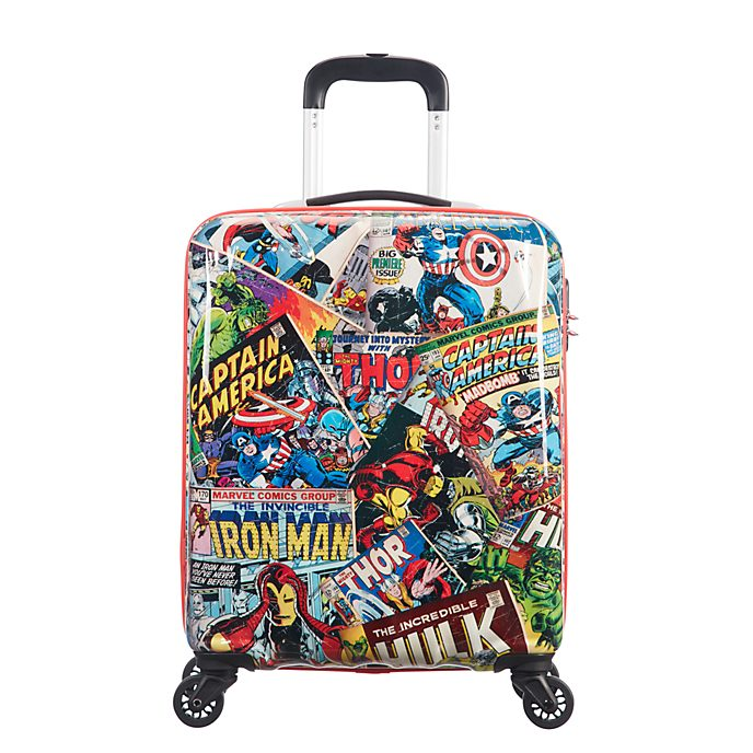 American Tourister Marvel Comics Small Rolling Luggage