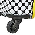 American Tourister maleta pequeña Minnie con ruedas y lunares estampados