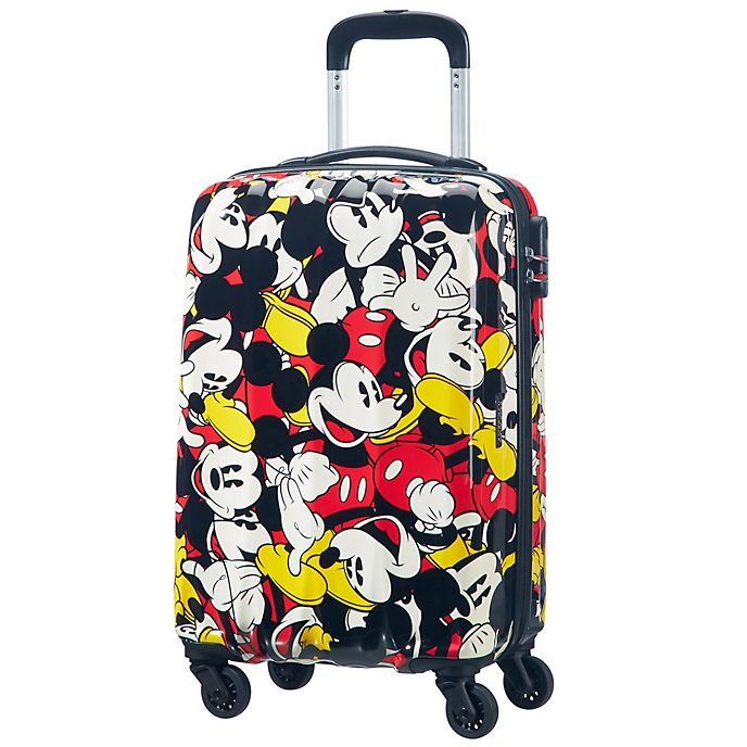 American Tourister Mickey Mouse Comics Small Rolling Luggage