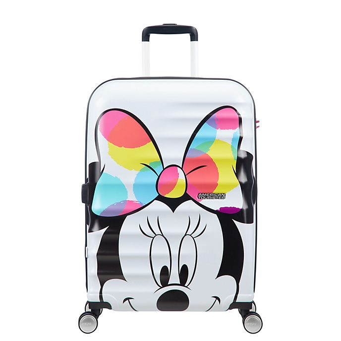 American Tourister Minnie Mouse Medium Rolling Luggage