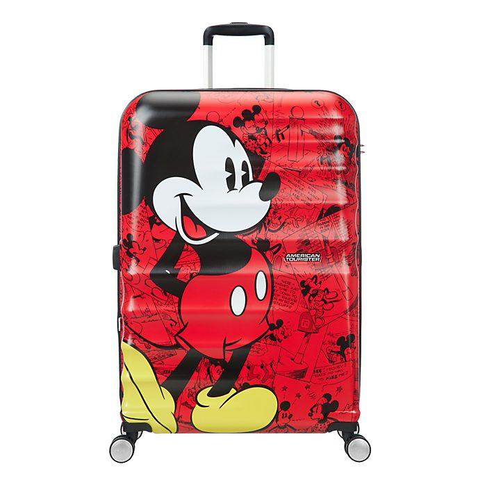 American Tourister maleta con ruedas grande Mickey Mouse