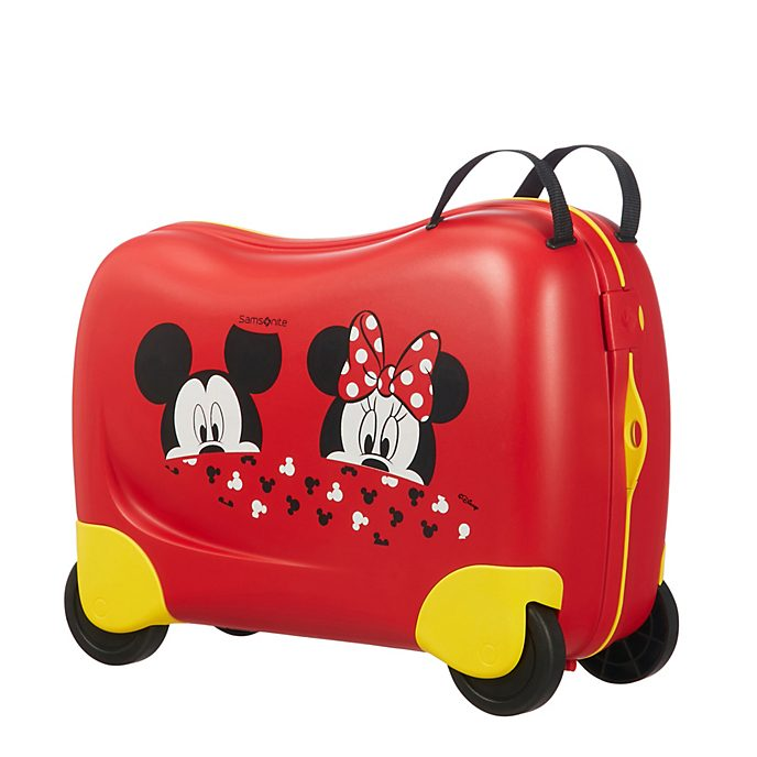 samsonite micky und minnie befahrbarer koffer f r kinder. Black Bedroom Furniture Sets. Home Design Ideas