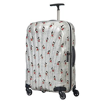 Samsonite Mickey: True Authentic Medium Rolling Luggage