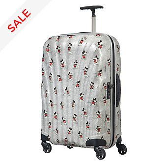 Samsonite Mickey: True Authentic Medium Rolling Luggage