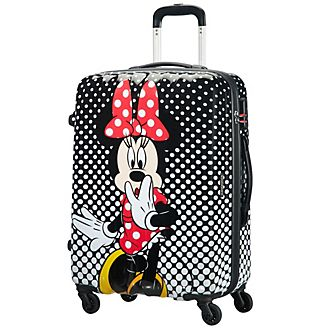 American Tourister Minnie Mouse Polka-Dots Medium Rolling Luggage