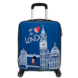 American Tourister Valise à roulettes Mickey I love London, petit format