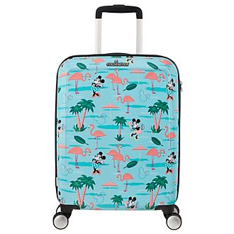 American Tourister Minnie Mouse Flamingo Small Rolling Luggage
