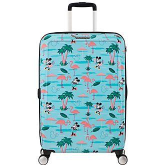 American Tourister maleta mediana con ruedas flamenco, Minnie Mouse