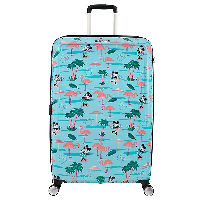American Tourister Minnie Mouse Flamingo Large Rolling Luggage