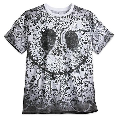 Jack Skellington Men's T-Shirt, The Nightmare Before Christmas