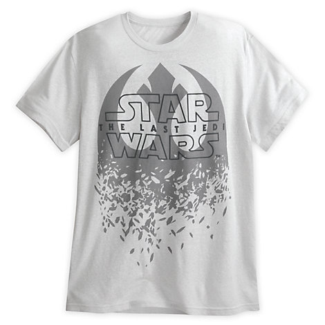 Star Wars: The Last Jedi t-shirt til herrer