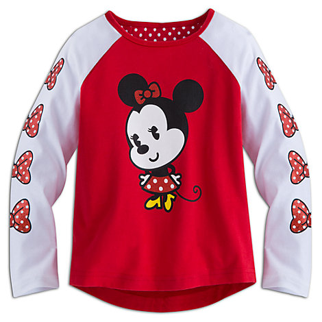 Camiseta infantil manga larga Minnie