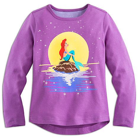 Haut à manches longues La Petite Sirène pour enfants