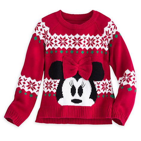 Minnie Mouse Christmas Jumper For Kids
