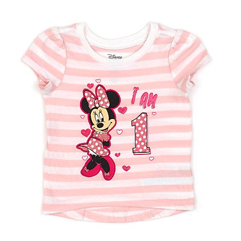 Minnie Maus - T-Shirt mit Zahl für Kinder