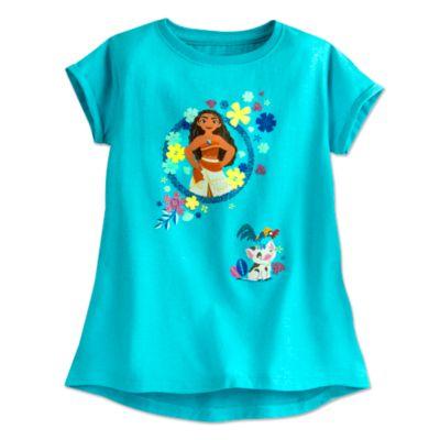 Camiseta infantil Vaiana