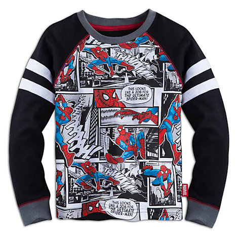 Spider-Man Long Sleeve Top For Kids