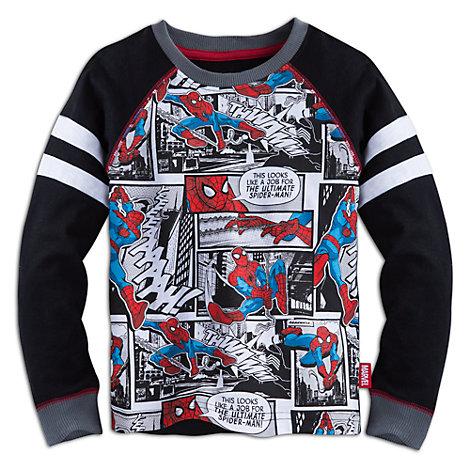 Camiseta infantil manga larga Spider-Man