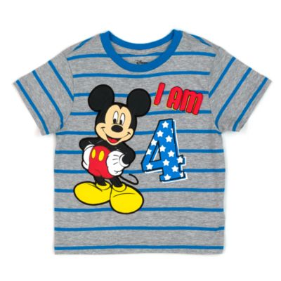 micky maus t shirt mit zahl f r kinder. Black Bedroom Furniture Sets. Home Design Ideas