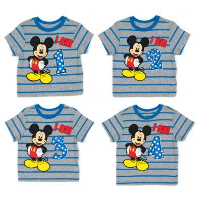 T-shirt Mickey Mouse avec âge pour enfants