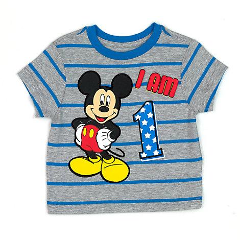 Micky Maus - T-Shirt mit Zahl für Kinder