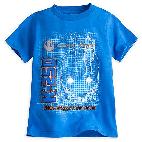 Rogue One: A Star Wars Story - K-2S0 T-Shirt nachtleuchtend für Kinder