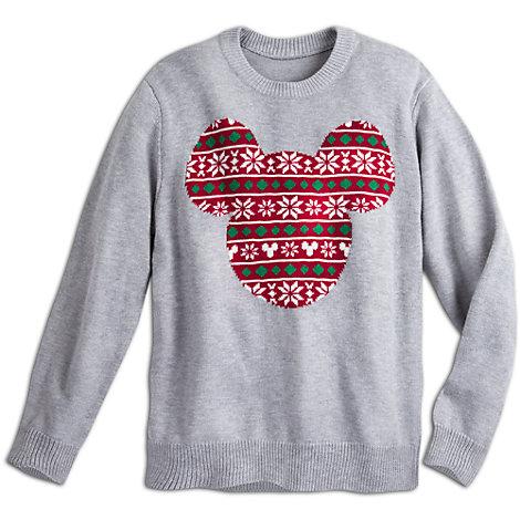 Micky Maus - Weihnachtlicher Pullover für Herren