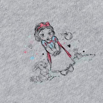 Felpa donna in pile collezione Disney Animators