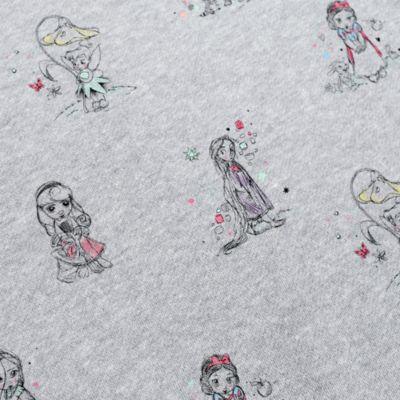 Disney Animators' Collection fleece top til damer