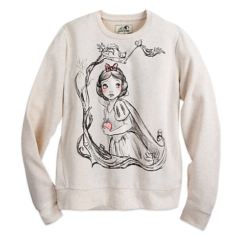 Art of Snow White sweatshirt til damer