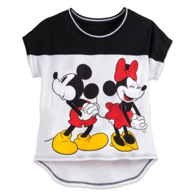 Mickey and Minnie Mouse Ladies' Top