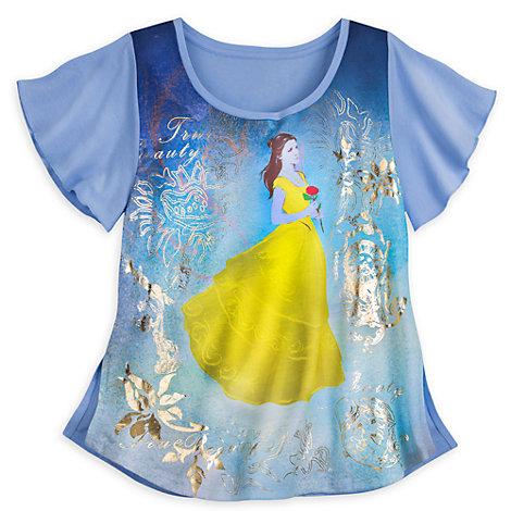 Skönheten och Odjuret t-shirt (flickor)