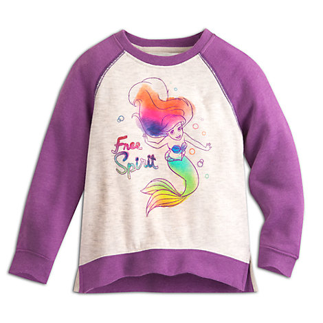 Ariel Colourful Fleece Sweater For Kids