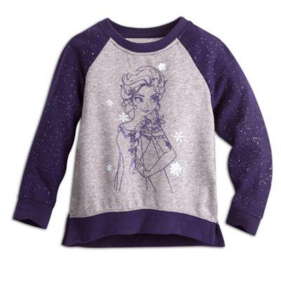 Sweatshirt en molleton pailleté Elsa de La Reine des Neiges