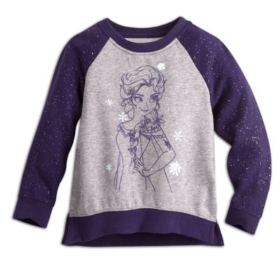 Elsa Glittery Fleece Sweater, Frozen